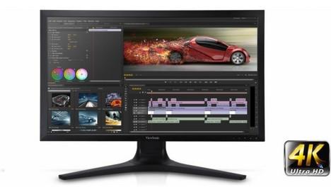 Viewsonic pr sente le moniteur premium vp2780 4k ultra for Moniteur montage video