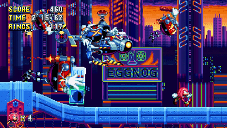 Sortie repoussée et Flying Battery Zone révélée — Sonic Mania