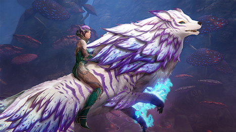 « Riders of Icarus » propose la mise à jour Corruption of Light