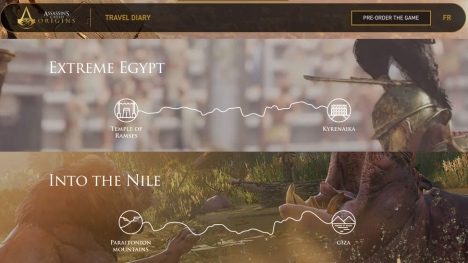 Ubisoft invite les Canadiens à explorer l'Égypte antique
