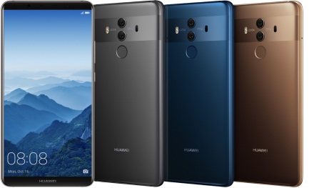 Huawei lance le Mate 10 Pro