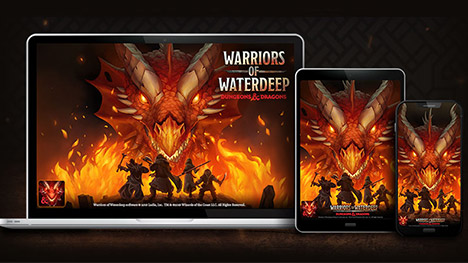 Ludia lance le jeu mobile « Warriors of Waterdeep » tiré la franchise Dungeons & Dragons