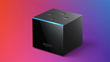 Amazon dévoile son Fire TV Cube