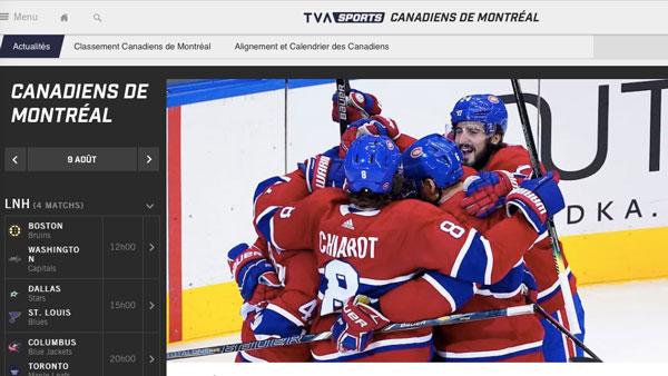 Tva Sports Satisfait Des Resultats D Ecoute Des Canadiens De Montreal Le Lien Multimedia Le Portail Des Professionnels Du Numerique Au Quebec