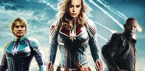 Plus de 2 millions $ au box-office pour « Captain Marvel »