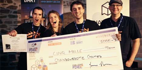 Challenge Pixel : Chainsawesome Games se distingue