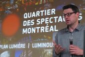 Jean Beaudoin explique le Plan lumi�re