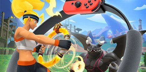 « Ring Fit Adventure » : la Nintendo Switch promet une gamme d'aventures et d'exercices