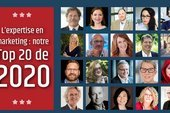 L'expertise en marketing : le Top 20 de 2020 d'ExoB2B