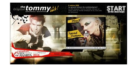 Tommy Ferlatte réalise son centième sites Web